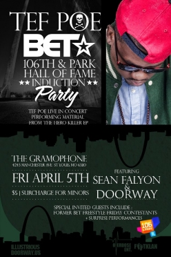 TEF POE BET FREESTYLE FRIDAY RETIREMENT PARTY