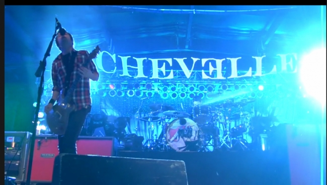Chevelle Talk Occupy Wall Street Song Face to the Floor